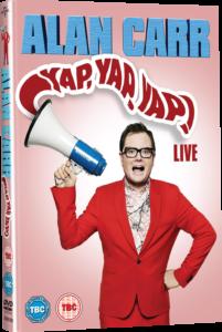 Alan Carr Yap Yap Yap! 2015 Live DVD