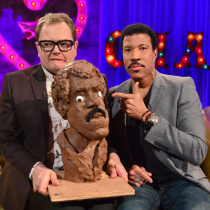 Alan Carr with Lionel Richie