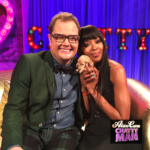 Alan Carr and Naomi Campbell on Alan Carr Chatty Man