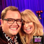 Alan Carr and Goldie Hawn