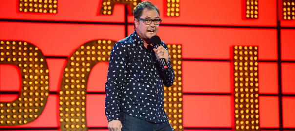Alan Carr on Live at the Apollo 2015