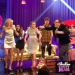Alan Carr dancing with Strictly Come Dancing stars