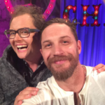 Alan Carr and Tom Hardy