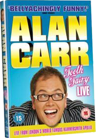 Alan Carr Tooth Fairy Live DVD