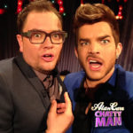 Alan Carr and Adam Lambert