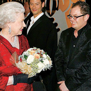 Alan Carr meets Her Majesty the Queen