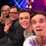 Holly Willoughby, Alan Carr, Caspar Lee and Joe Sugg on Alan Carr Chatty Man