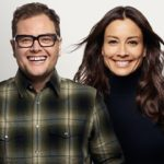 Alan Carr and Melanie Sykes
