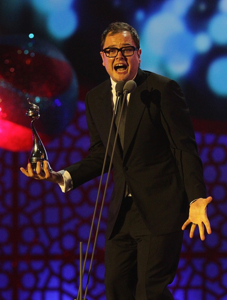Alan Carr wins NTA on stage