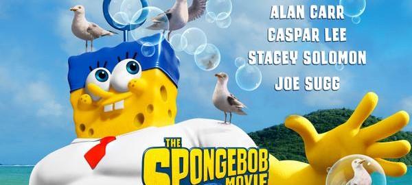 Spongebob Squarepants: Sponge Out of Water movie poster