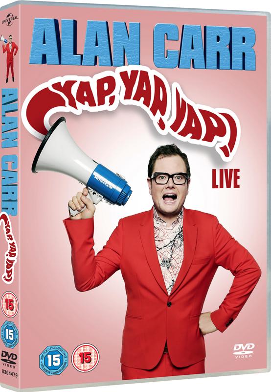 Alan Carr Yap Yap Yap DVD