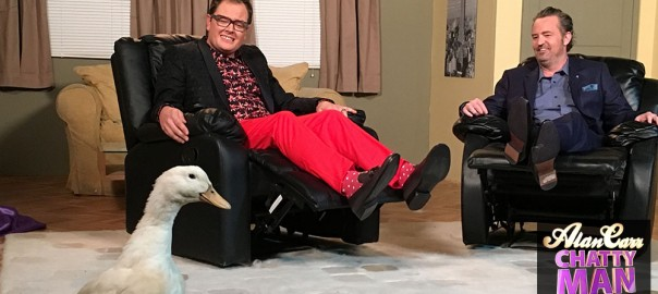 Alan Carr, Matthew Perry and a duck