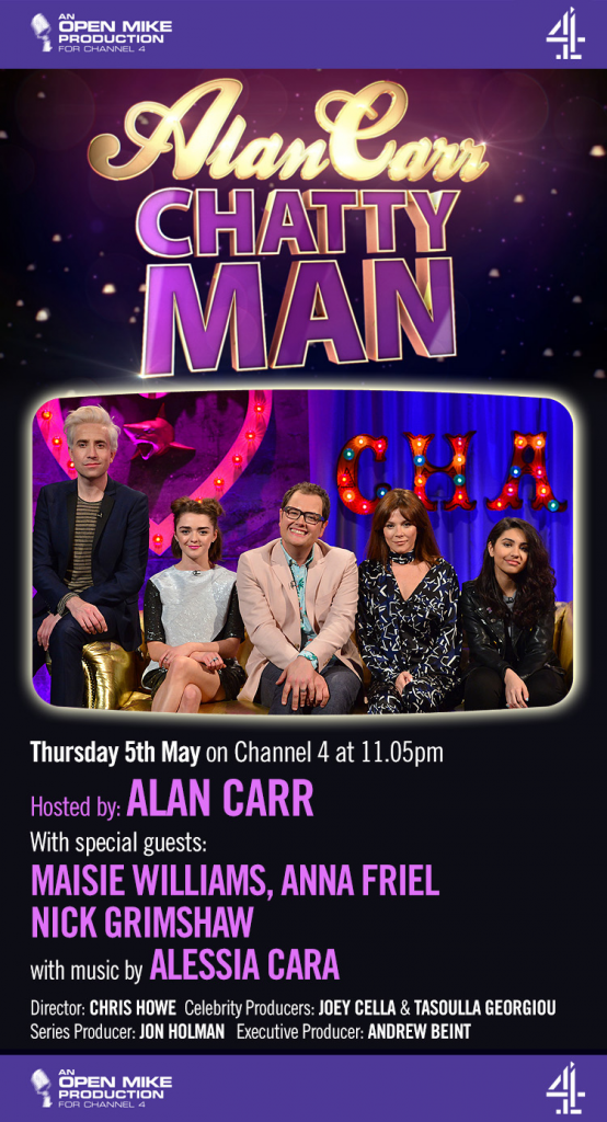 Alan Carr Chatty Man episode 10, series 16