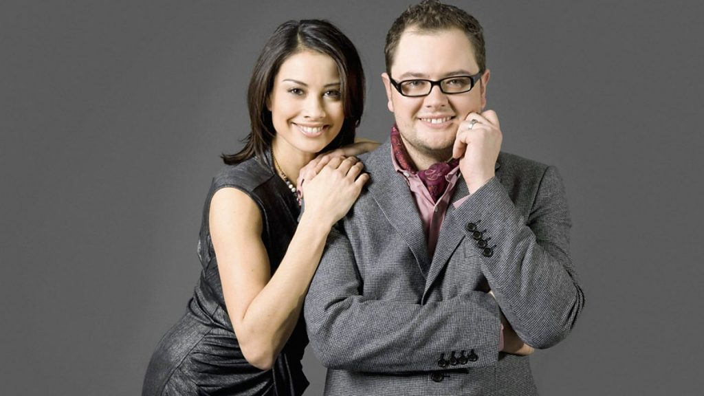 Alan Carr and Melanie Sykes on BBC Radio 2