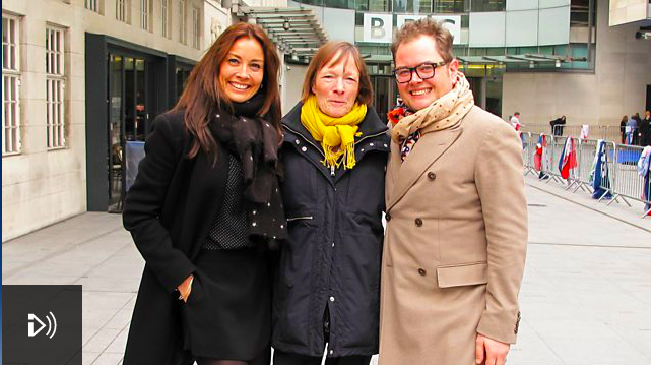 Alan Carr and Melanie Sykes on BBC Radio 4's A Good Read