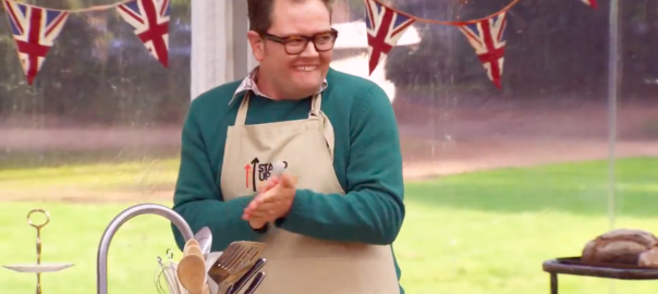 Alan Carr in Bake Off