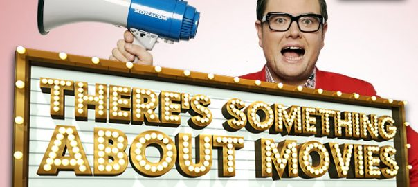 Alan Carr in SKY1's There's Something About Movies